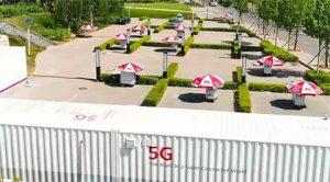 华为在中国测试5G网络